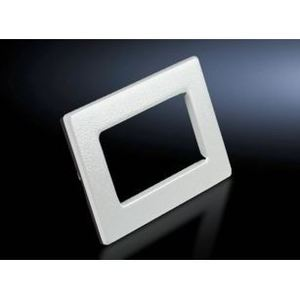 "Rittal 8018444 Window Kit, 7.5 x 5.5"", Polycarbonate/Carbon Steel"