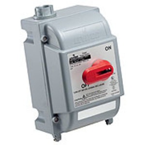 Leviton DS30-FAX 30 Amp, 600 Volt Disconnect Switch, Watertight