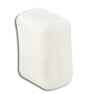Power-Strut PS6153-5-WHITE Channel Safety End Cap, For Use With PS 500 Series Channel, Plastic