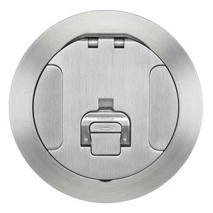 Hubbell-Wiring Kellems CFBS1R6CVRALU CFB ROUND 6 INCH COVER ALUMINUM