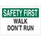 25632 FALL PROTECTION SIGN
