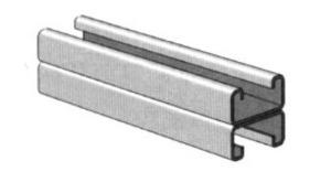 Power-Strut PS520-2T3-10PG Atkore PS-520-2T3-10-PG