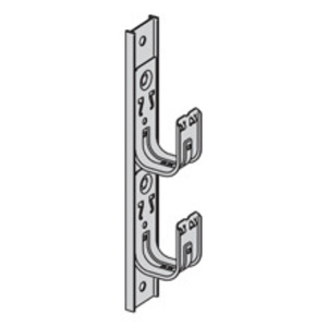 Eaton B-Line BCH64-2S SINGLE-SIDED MULTI-TIER, 4-IN. HOOK, 2-TIER, 19 5/16-IN. HEIGHT