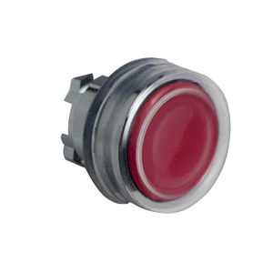 ZB4BPA4 NON-ILLUM CLEAR BOOTED HEAD-RED