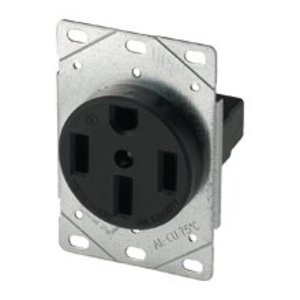 Eaton Arrow Hart 1258-SP Receptacle, 50A, 125/250V, 3P4W, 14-50R
