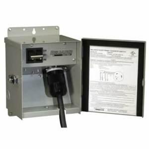 Reliance Controls CSR302 30A, 120/240V, NEMA L14-30P Inlet Receptacle