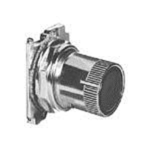 Eaton 10250T2411 Push Button, Roto-Push, Black Flush , 30mm, Cam 1, Operator Only