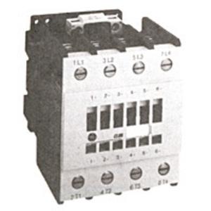 GE CL02A400TJ Contactor, IEC, 17.5A, 460V, 4P, 120VAC Coil, 1NO Auxiliary