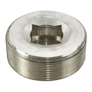 "Appleton PLG-150A Close-Up Plug, Recessed Head, 1-1/2"", Explosionproof, Aluminum"