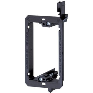 Arlington LV1 Mounting Bracket, 1-Gang, Low Voltage, Non-Metallic