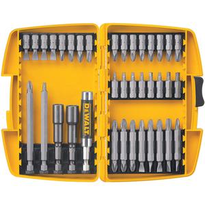 DEWALT DW2163 37 Piece Screwdriving Set With Tough Case
