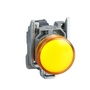 XB4BVG5 22MM PILOT LIGHT YEL 120VAC