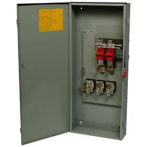 Eaton DG323NGB Safety Switch, 100A, 3P, 240V, Type DG, Fusible, NEMA 1