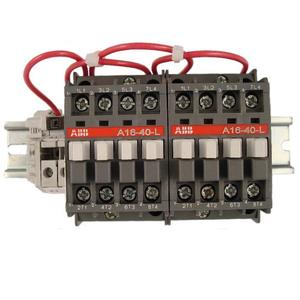 ABB A16-80L-00-84 30A, 8P, Electrically Held, Lighting Contactor