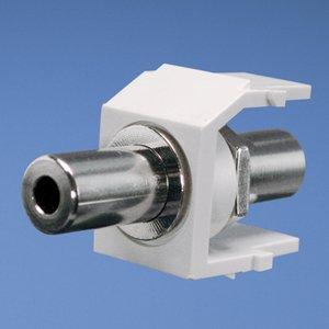 Panduit NK35MSCWH NK 3.5mm Stereo Coupler, White