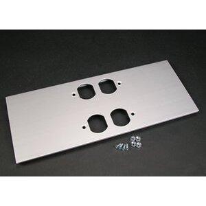 Wiremold AL5246-DD Double Duplex Device Plate