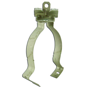 "Erico Caddy 32M24 Flange Mount Conduit Clip, 3/8 to 2"", Fits 1/8 to 1/4"" Flange"