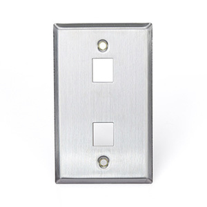 43080-1S2 Q/P STAINLESS PLATE 1 G 2 P