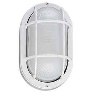 Sea Gull 8927BLE-15 One Light Outdoor Wall Lantern, White