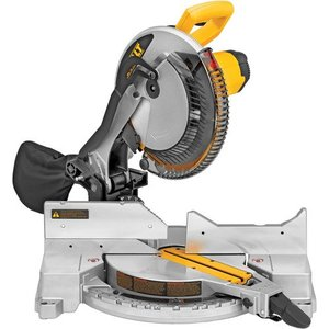 DEWALT DW715 Heavy-duty 12in Single-bevel Compound Miter Saw