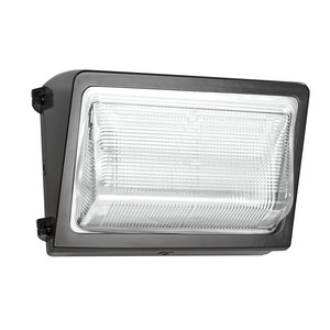 RAB WP2LED37 WALLPACK 37W COOL LED 120-277V WITH GLASS LENS BRONZE