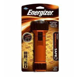 Energizer MS2DLED Waterproof Flashlight, LED, 66 Lumens, Orange/Black