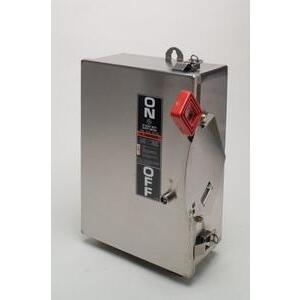 ABB THN3362SSW Disconnect Switch, 60A, 600VAC, 250VDC, 3P, Non-Fusible, NEMA 4/4X