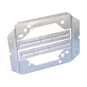 "nVent Caddy MEB1 Bracket For Electrical Box, Stud Wall Depth: 2-1/2 - 4"", Steel"