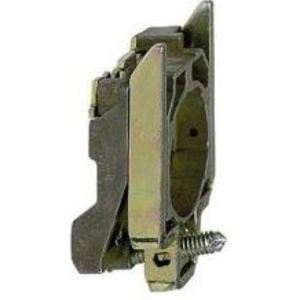 Square D ZB4BZ009 Pilot Device, Mounting Base, Metal, 22.5mm, Screw Clamp