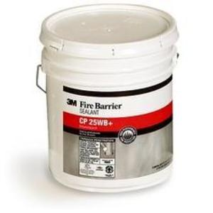 3M CP-25WB+5GAL Red Fire Barrier Caulk, 5 Gallon Pail, Halogen Free