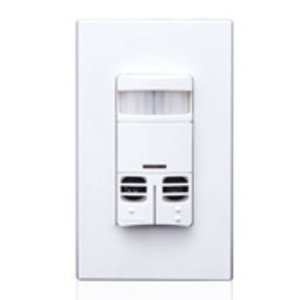 Leviton OSSMD-GDW Occupancy Sensor, Dual Relay, Multi-Tech, PIR/Ultraso
