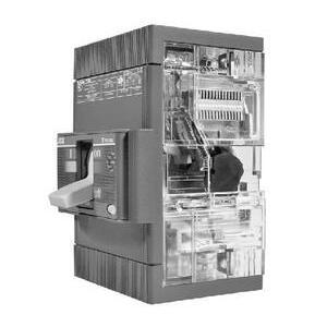 ABB T5N400BW Breaker, Molded Case, 400A, 3P, 600VAC, 25 kAIC, Tmax Breaker