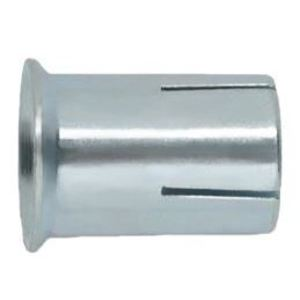 "Copper State Nut & Bolt 21RMM-0250063 Drop-In Anchor, Carbon Steel, Zinc, Coarse Thread, 1/4"" x 5/8"""