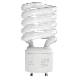 SYLVANIA CF13EL/GU24/827/BL Compact Fluorescent Lamp, Mini-Twister, 13W, 2700K *** Discontinued ***