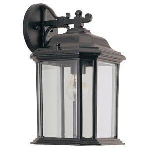 Sea Gull 84031-12 Lantern, Outdoor, 1 Light, 100W, Black