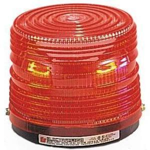 Federal Signal 141ST-120R Beacon, Strobe, Red, Voltage: 120VAC