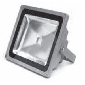 Maxi-Signal Products FL-50-100-277 50W LED Flood Light, 4750 Lumen, 5000K, 100-277V
