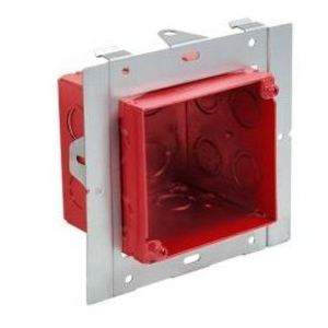 "Orbit Industries FA-UMAB 4"" Square Universal Mounting Adjustable Box"