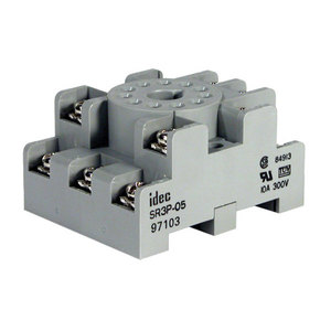 IDEC RTE-P2AF20 Timing Relay, 11-Pin, Tube Base, Multi-Function, 240VAC, 2PDT