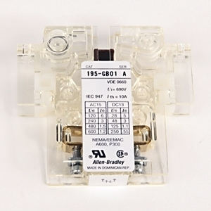 Allen-Bradley 195-GB01 KIT,AUXILIARY CONTACT