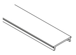 Diode LED DI-CPCHC-FR48 CHROMAPATH FROSTED CHANNEL COVER 48IN 1 COVER