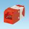 CJ5E88TGRD MINICOM 8C T568 A/B RED