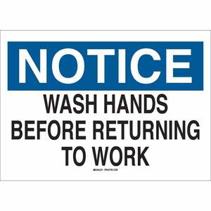 25150 PERSONAL HYGIENE SIGN