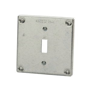 BC8361 4IN SQ COVER TOGGLE SWITCH