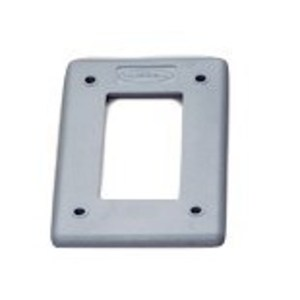 Hubbell-Kellems HBLP26FS POB COVER PLATE, GFCI,