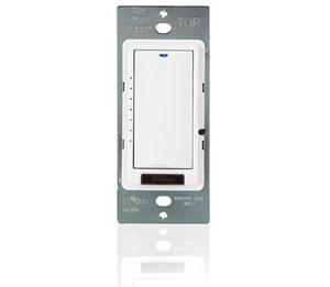 Wattstopper LMDM-101-W Digital Switch, 1-Button, Dimmer, White