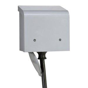 Reliance Controls PBN30 Power Inlet, 30A, 120/240VAC, NEMA L14-30P, Recessed Inlet, NEMA 3R