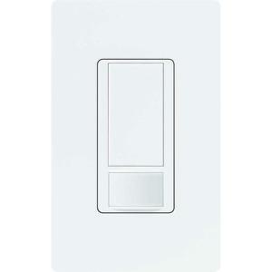 Lutron MS-OPS6M2U-DV-WH Occupancy/Vacancy Sensor Switch, White