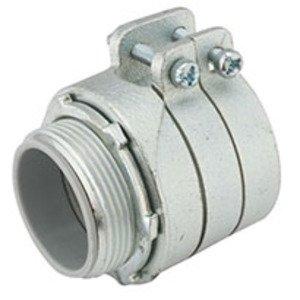 Hubbell-Raco 3314 CONN FLEX AC/MC INSUL 3-1/2 IN MALL IRON