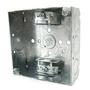 Steel City 52151-X 4SQUARE BX,STL,21CU, MC CLMP